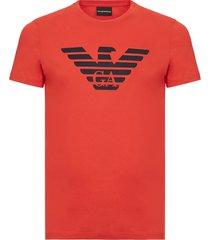 emporio armani big eagle t-shirt koraal