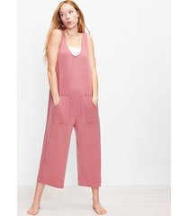 loft loft daydream luxe knit pocket pajama romper