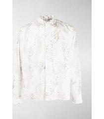 jacquemus simon floral print shirt