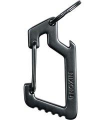 llavero carabiner steel gray nixon
