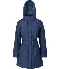 abrigo mujer aurora azul doite