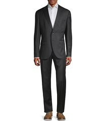 classic-fit johnstons & lenon virgin wool suit