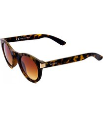 óculos de sol khatto round young renata marrom - kanui