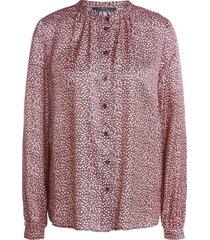 blouse met bloemenprint sweet  roze