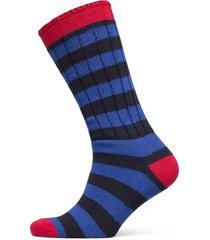 bootsock colour stripe/heel-to underwear socks regular socks blå egtved