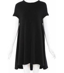 balenciaga wool knit dress black sz: s