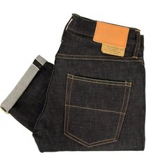 tellasson gustave slim tapered selvage denim jeans 1215.03