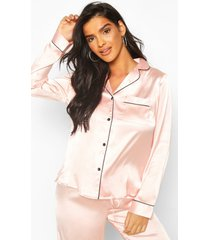 mix & match pj shirt, rose gold