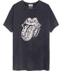 catwalk junkie t-shirt rolling stones judy dark grey