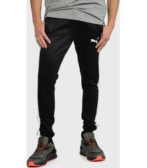 pantalón de buzo puma active tricot pants cl negro - calce regular