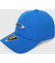 gorra azul-blanco oakley tincap cap