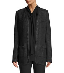adina knit v-neck jacket