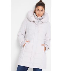 gewatteerde outdoor jas in layerlook