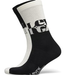 levis unisex mirrored logo regular underwear socks regular socks svart levi´s