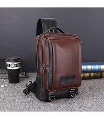 fionda per il tempo libero vintage casual outdoor borsa cassa borsa per uomo borsa