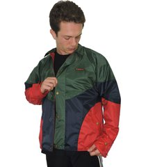 jaqueta windbreak 9d5 incorporation blue green