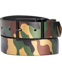inc men's reversible camo belt, created for macy's