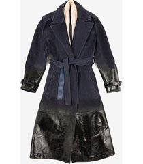 trench coat blue 40