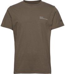 halo cotton tee t-shirts short-sleeved grön halo