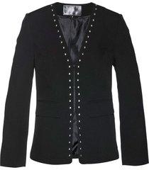 blazer con borchie (nero) - bpc selection