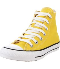 zapatilla amarilla converse chuck taylor all star seasonal
