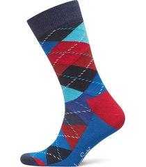 argyle sock underwear socks regular socks blå happy socks