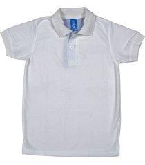 camiseta tipo polo marfil hamer fondo entero