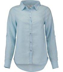 blouse linnen lichtblauw