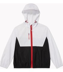 tommy hilfiger adaptive women's colorblocked jacket