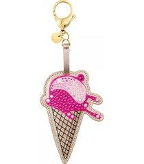 accesorio para bolso no regrets ice cream, multicolor, mezcla de baños