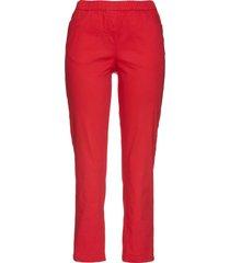 pantaloni elasticizzati 7/8 (rosso) - bpc selection