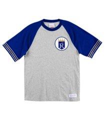 mitchell & ness men's kansas city royals team captain t-shirt