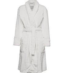 bath robe morgonrock creme pj salvage