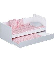 bi-cama nuth branco fosco reller móveis - tricae