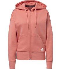 sweater adidas 3-stripes doubleknit scuba hoodie