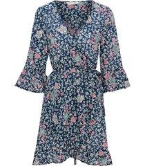 omlottklänning lush shak wrap dress