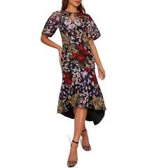 women's chi chi london jorja sleeveless trumpet gown