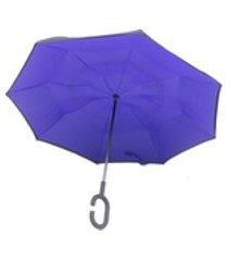 guarda chuva abre e fecha invertido contrário smart umbrella 30 modelo 30