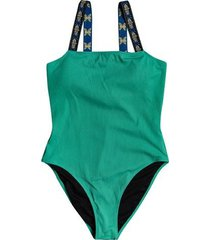 quiksilver womens the rib one-piece swimsuit