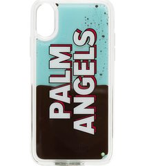 palm angels iphone x liquid logo case