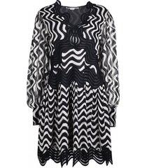 kinley zijden jurk