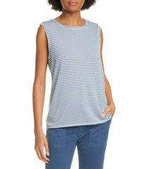 women's nili lotan stripe cotton muscle t-shirt
