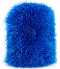 dyed fox fur iphone 7 case