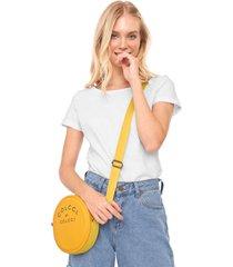 bolsa colcci redonda amarela