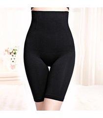 hembra de cintura alta posparto ángulo plano vientre pantalones corset de cuerpo de la cadera los pantalones