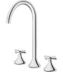 misturador para banheiro mesa bica up liss cromado - 00920706 - docol - docol