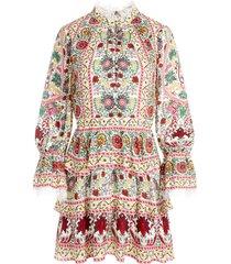 alice+olivia lawson shift dress - pink