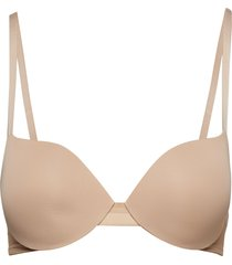 lightly lined demi lingerie bras & tops t-shirt bra rosa calvin klein