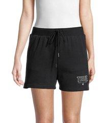 true religion women's logo shorts - black - size xs