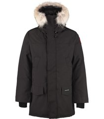 canada goose langford padded parka with fur hood